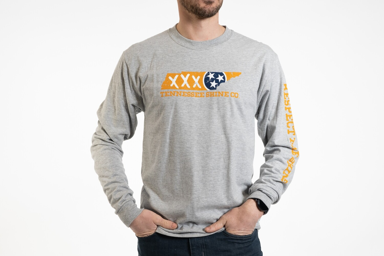 TSC Grey State L/S