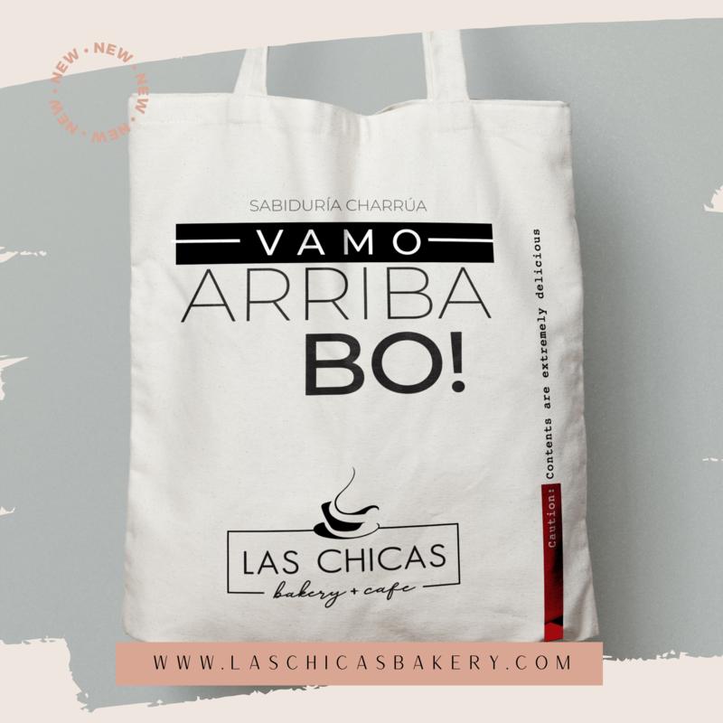"""VAMO ARRIBA"" CANVAS TOTE BAG"