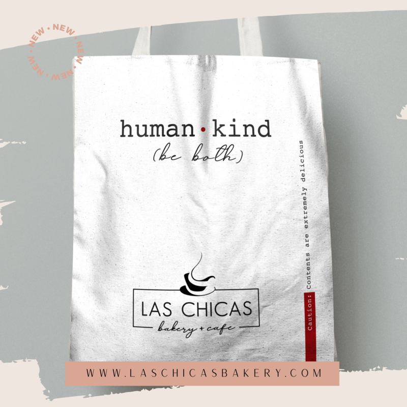 """HUMAN + KIND"" CANVAS TOTE BAG"