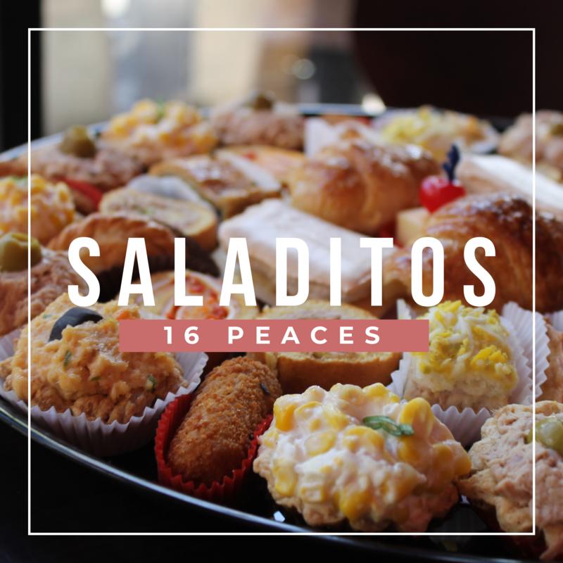 SALADITOS X 16 UNITS