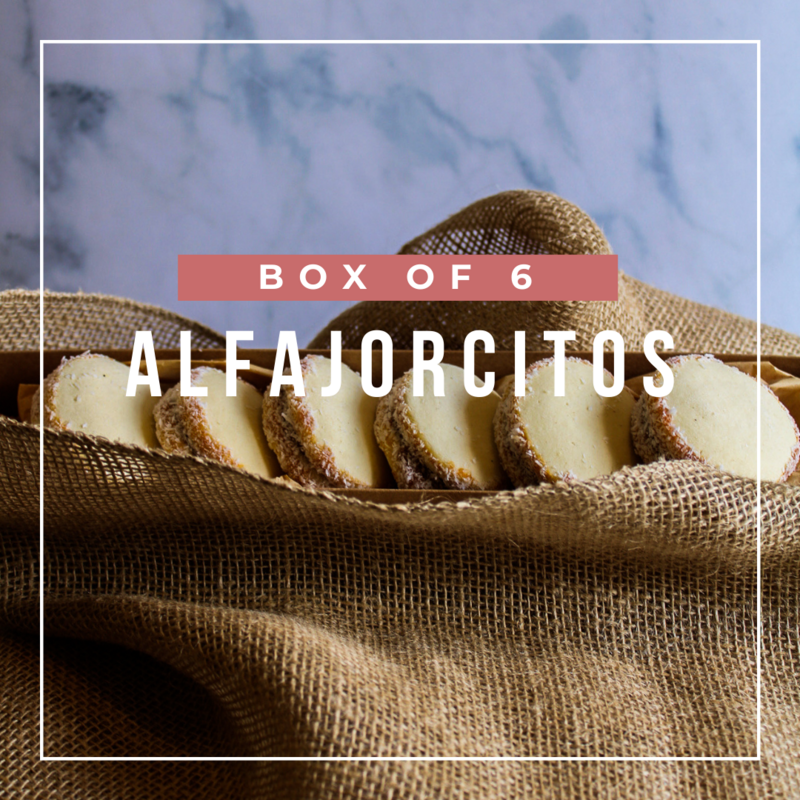BOX OF 6 ALFAJORES