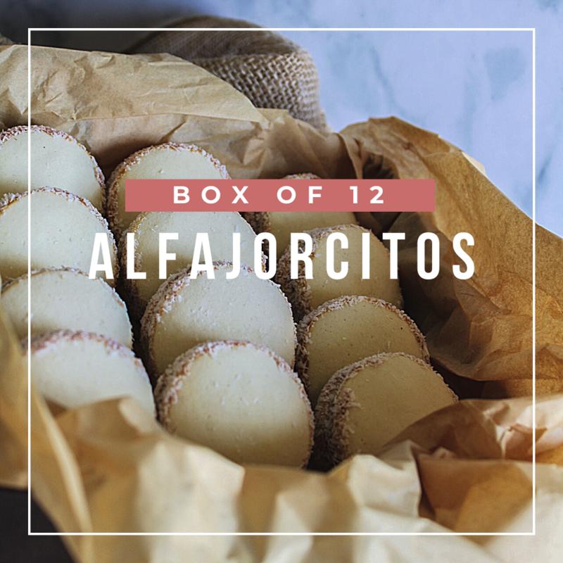 BOX OF 12 ALFAJORES