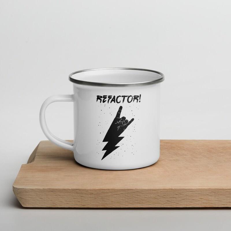 Refactor Enamel Mug