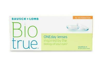 Biotrue ONEday for Astigmatism (30 Pack)