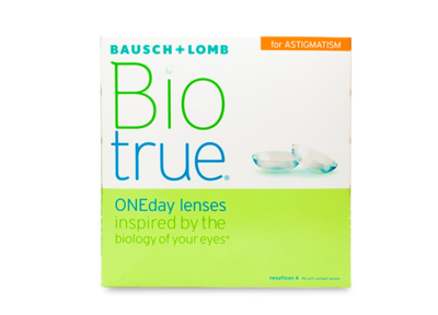 Biotrue ONEday for Astigmatism (90 Pack)