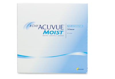 1 Day Acuvue Moist for Astigmatism (90 Pack)