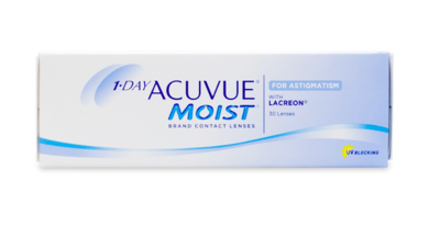1 Day Acuvue Moist for Astigmatism (30 Pack)