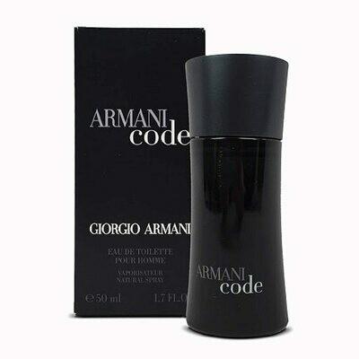 ARMANI BLACK CODE 75 ML
