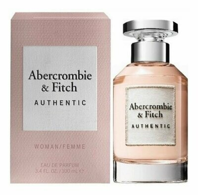 ABERCROMBIE & FITCH AUTHENTIC WOM EDT 100 ML