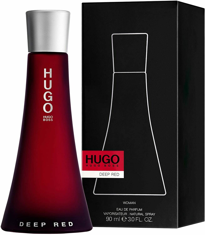 HUGO BOSS DEEP RED 90 ML WOMEN