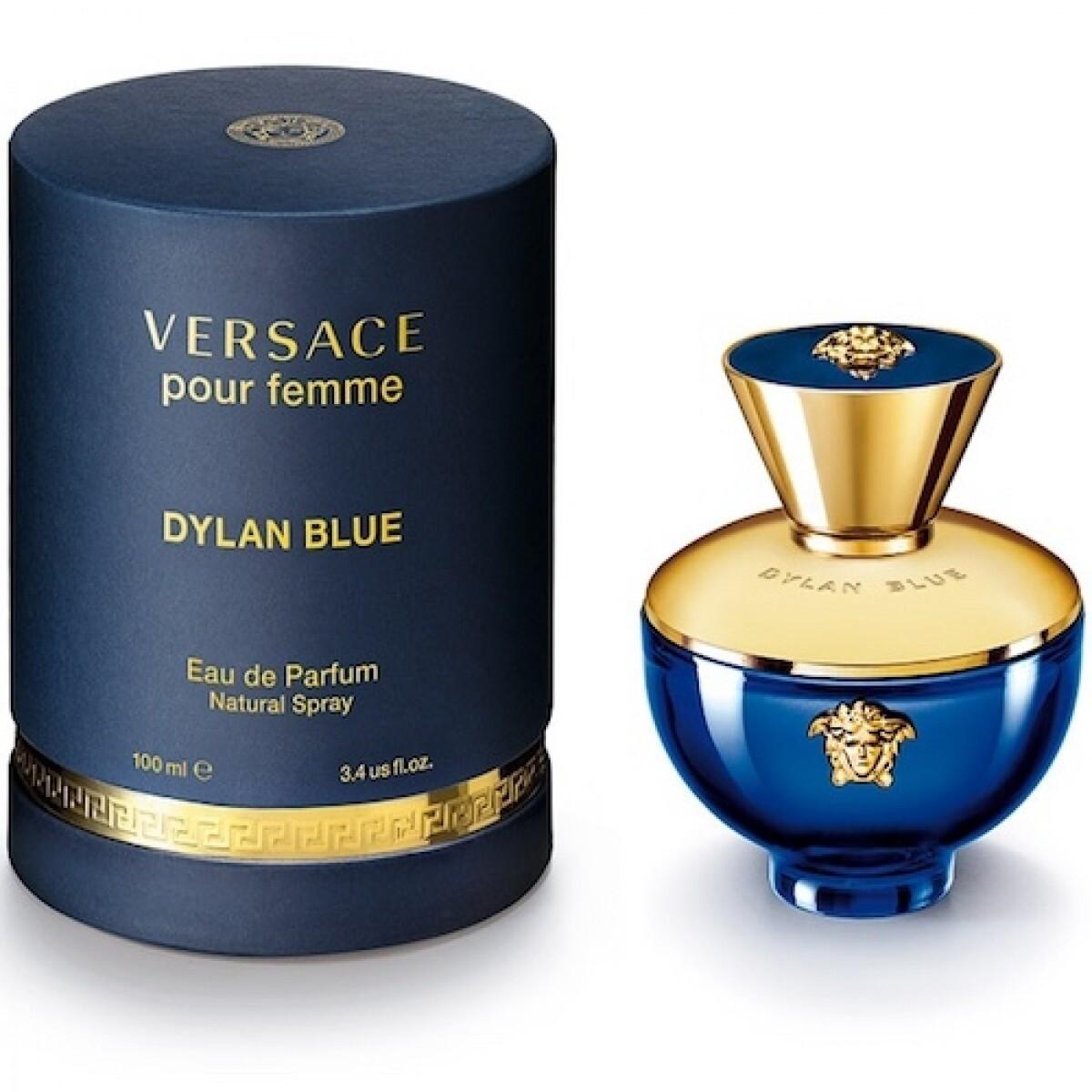 VERSACE DYLAN BLUE FEMME EDP 100
