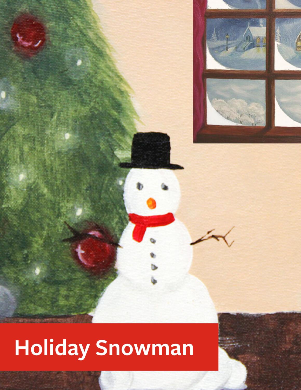 """""""Holiday Snowman"""" Holiday Greeting Card Set"""