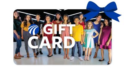 Digital Gift Card for Music, Art, Dance or Drama Classes