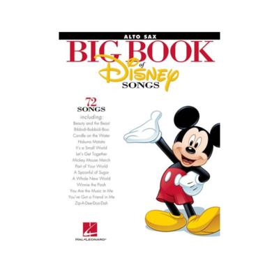 Big Book of Disney Songs: Alto Sax
