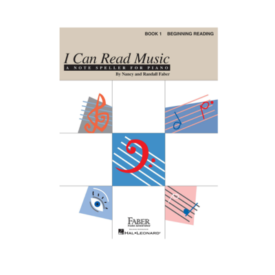 I Can Read Music: A Note Speller For Piano Book 1 Beginning Reading