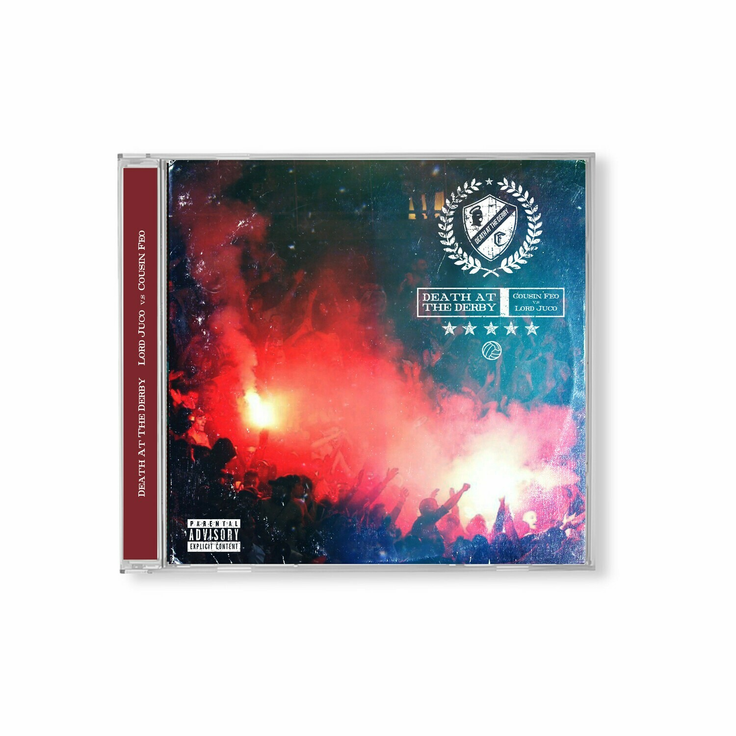 Death of the Derby Jewel Case CD