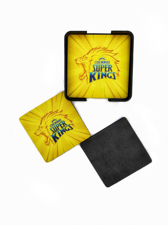 Chennai Super Kings - MDF Coasters
