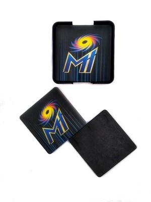 Mumbai Indians - MDF Coasters