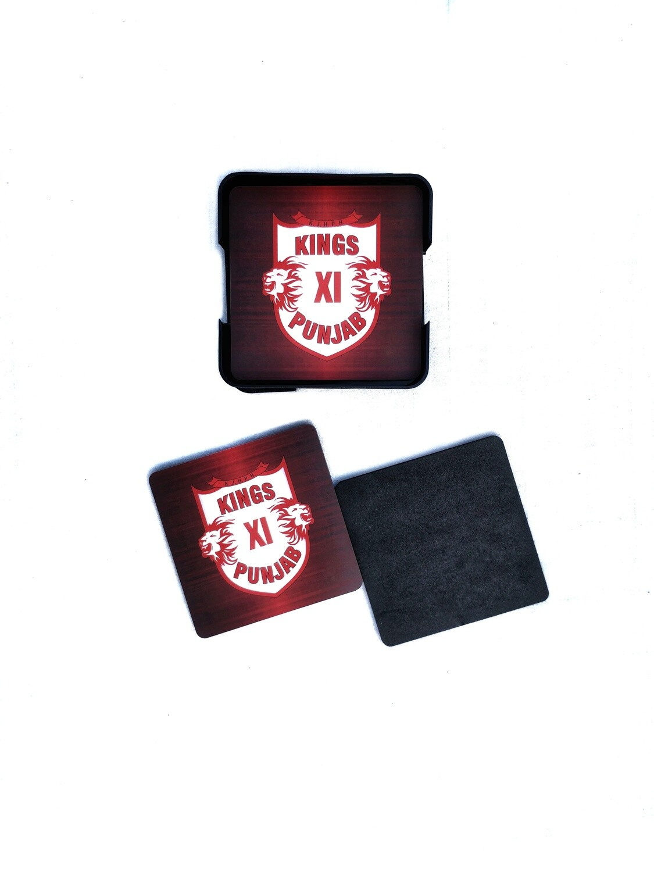 Kings XI Punjab - MDF Coasters