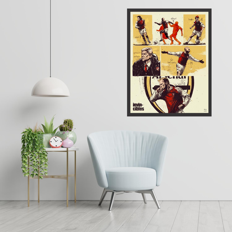 Arsenal Invincibles Framed Wall Art
