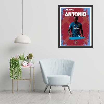 West Ham United - Michail Antonio Wall-art