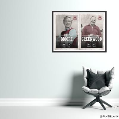 West Ham United - Bobby Moore and Greenwood