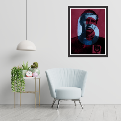 West Ham United - Bobby Moore Graphic Wall-art