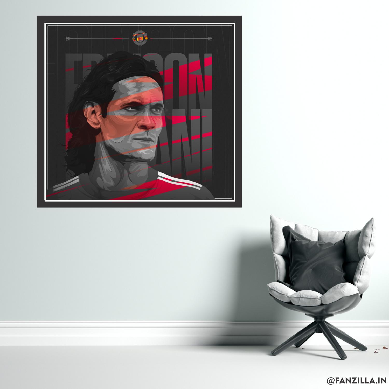 Cavani - 'Determined' Graphic Wall Art