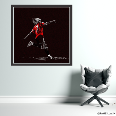 Cavani - 'Catch Me If You Can' Graphic Wall Art