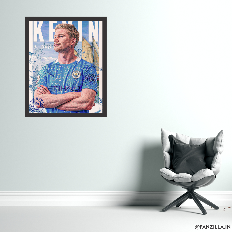 De Bruyne 2020-21 Season Graphic Wall Art
