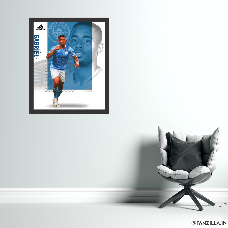 Gabriel Jesus - Graphic Wall Art