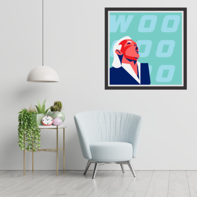 Ric Flair - Woo - Minimalistic