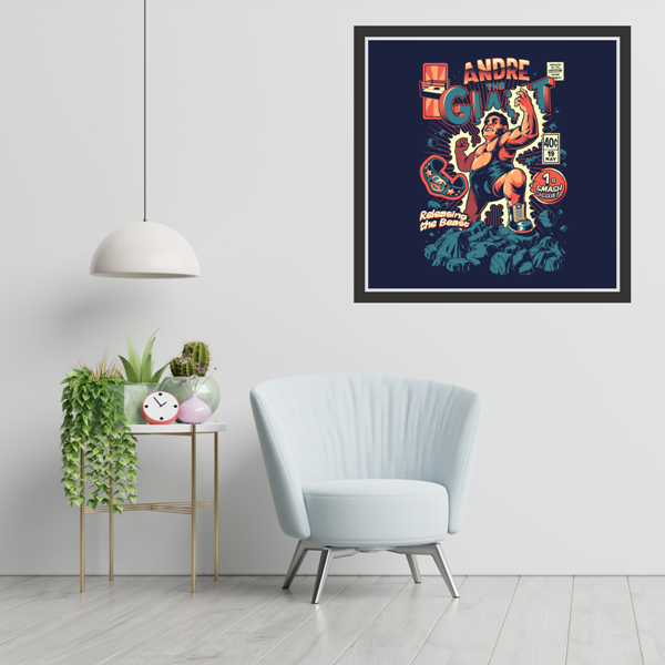 Andre The Giant - 'Smash' Graphic Wall Art