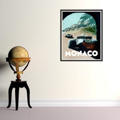 Monaco in Watercolor