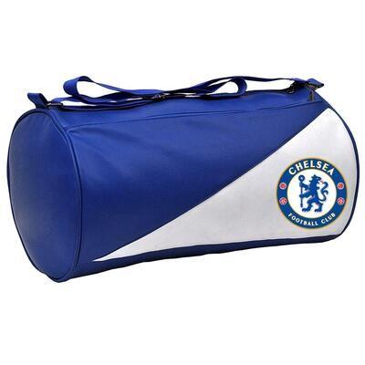 Chelsea Leatherette Duffel Gym Bag