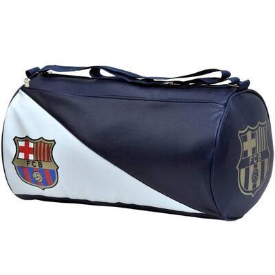 Barcelona Leatherette Duffel Gym Bag