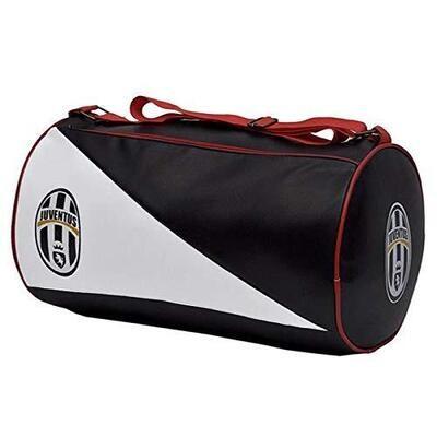 Juventus Retro Leatherette Duffel Gym Bag