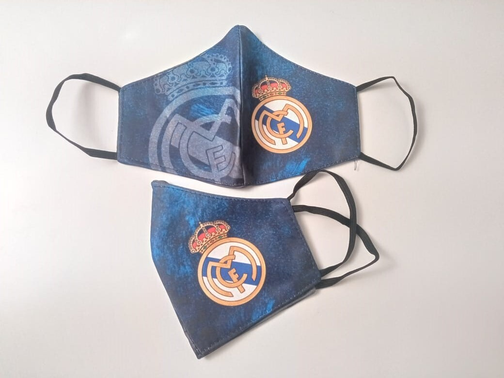 Real Madrid - Blue (Pack of 2)