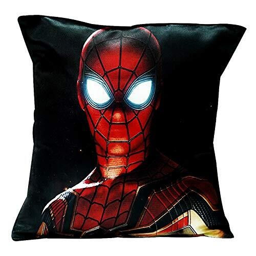 Spider Man Lit Eyes - Graphic Cushion Cover
