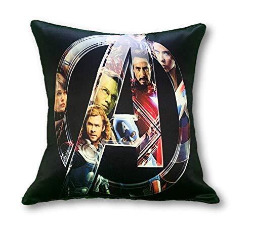 Avengers - Logo Graphic Cushion Cover