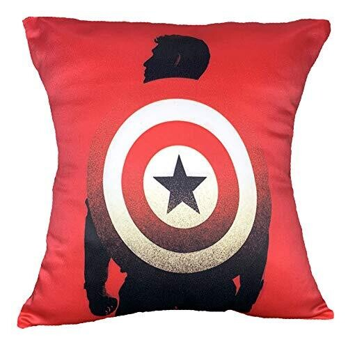 Captain America - Shield on the Back Graphic Cushion Cover