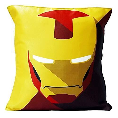 Iron Man Lit Eyes - Graphic Cushion Cover