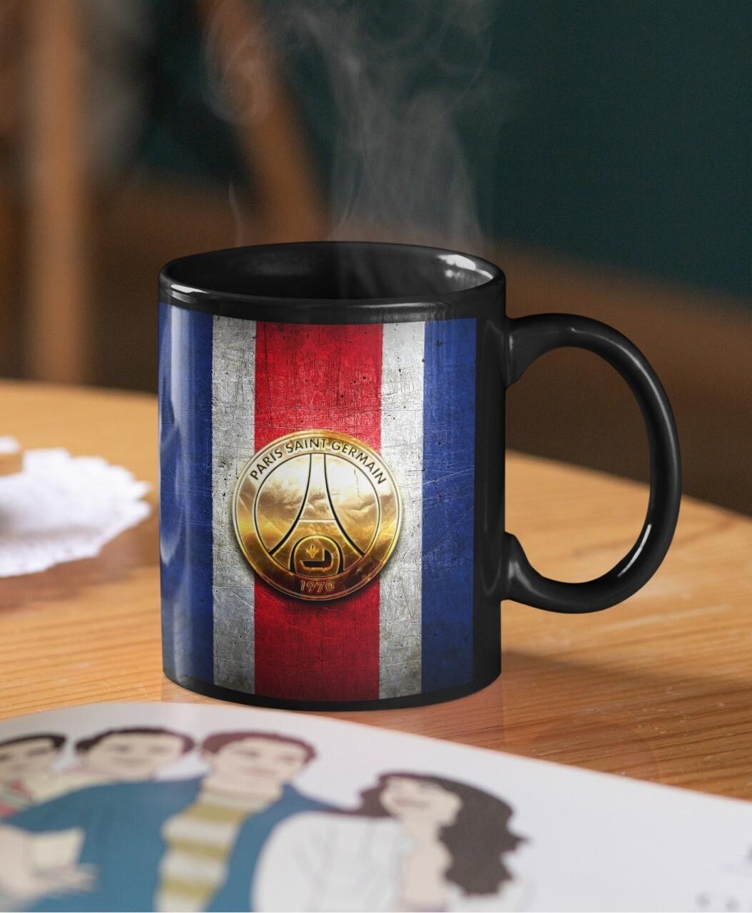 PSG France Designer Mug (Microwave and Dishwasher Safe)