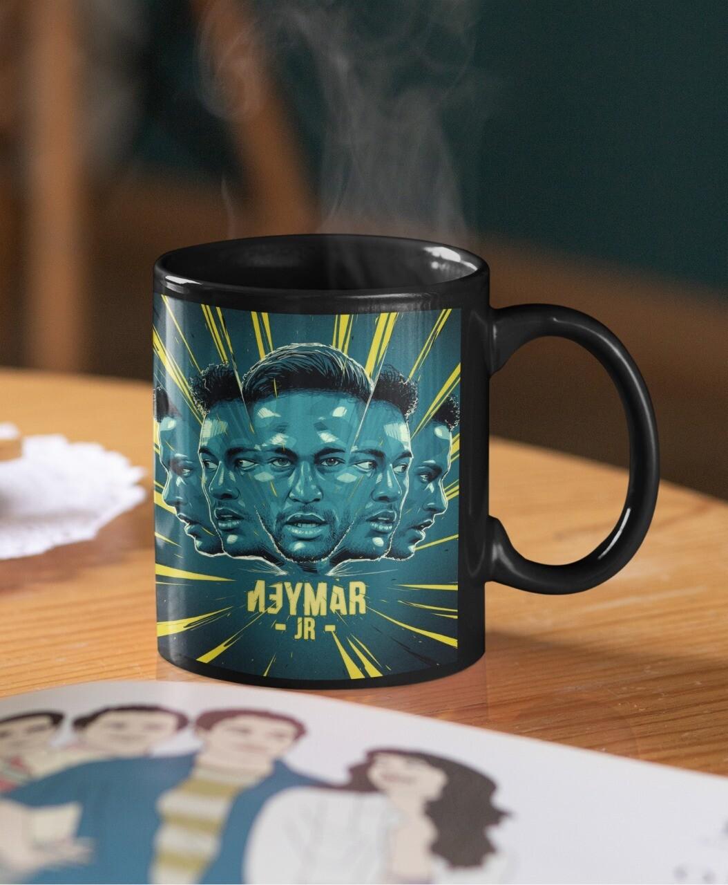 Neymar Amazing Design Mug (Microwave and Dishwasher Safe)