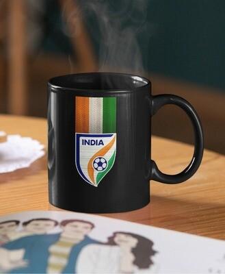 Indian Football Team Logo Mug (Microwave and Dishwasher Safe)