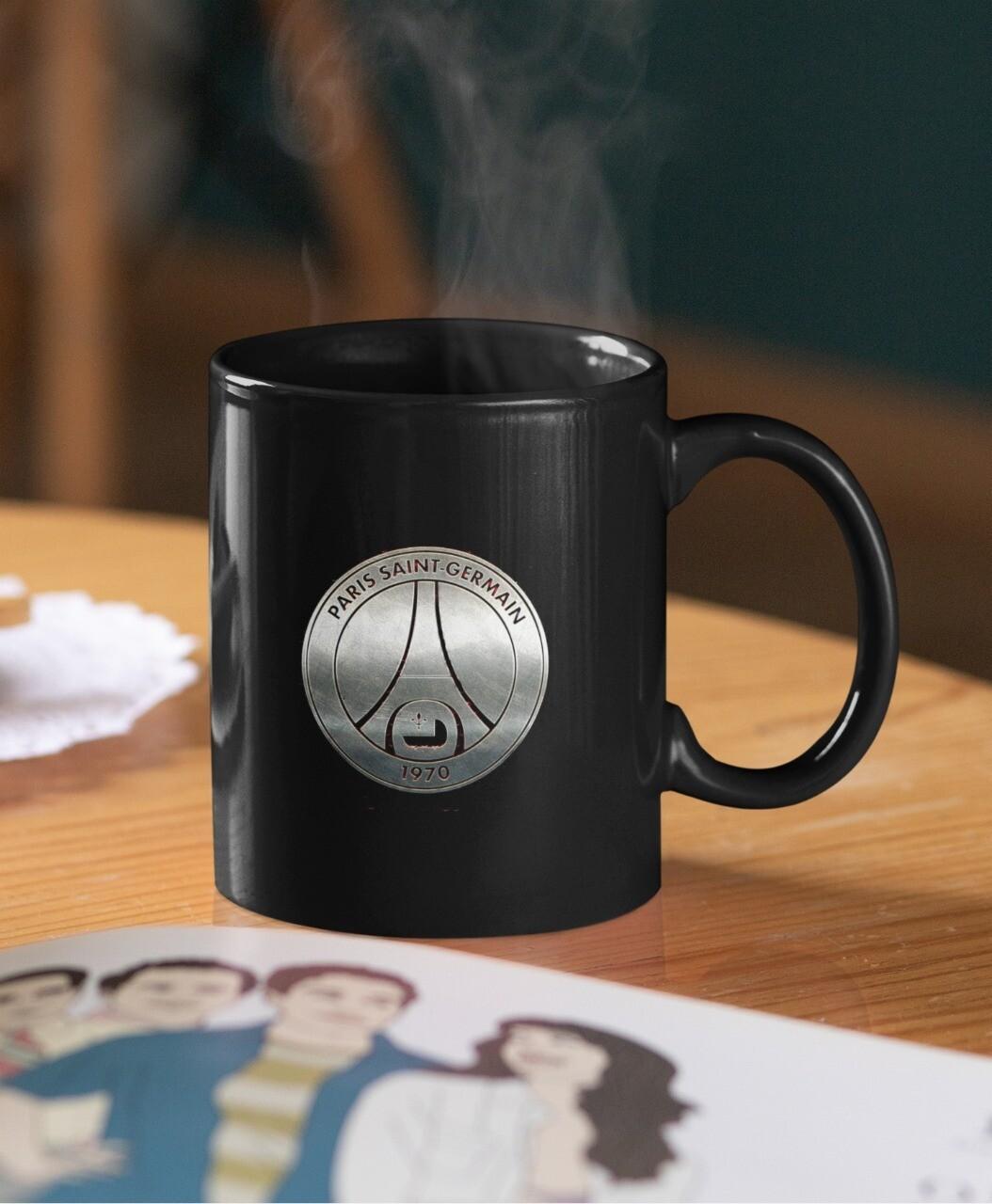 PSG Silver Crest Mug (Microwave and Dishwasher Safe)