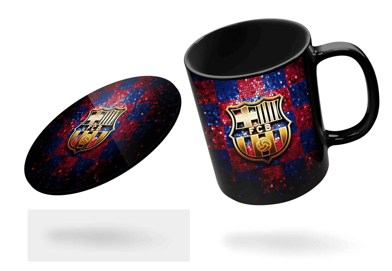 Barcelona '19-20 Black Mug  (Microwave and Dishwasher Safe)