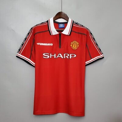 Manchester United 1998 Home - Short Sleeves