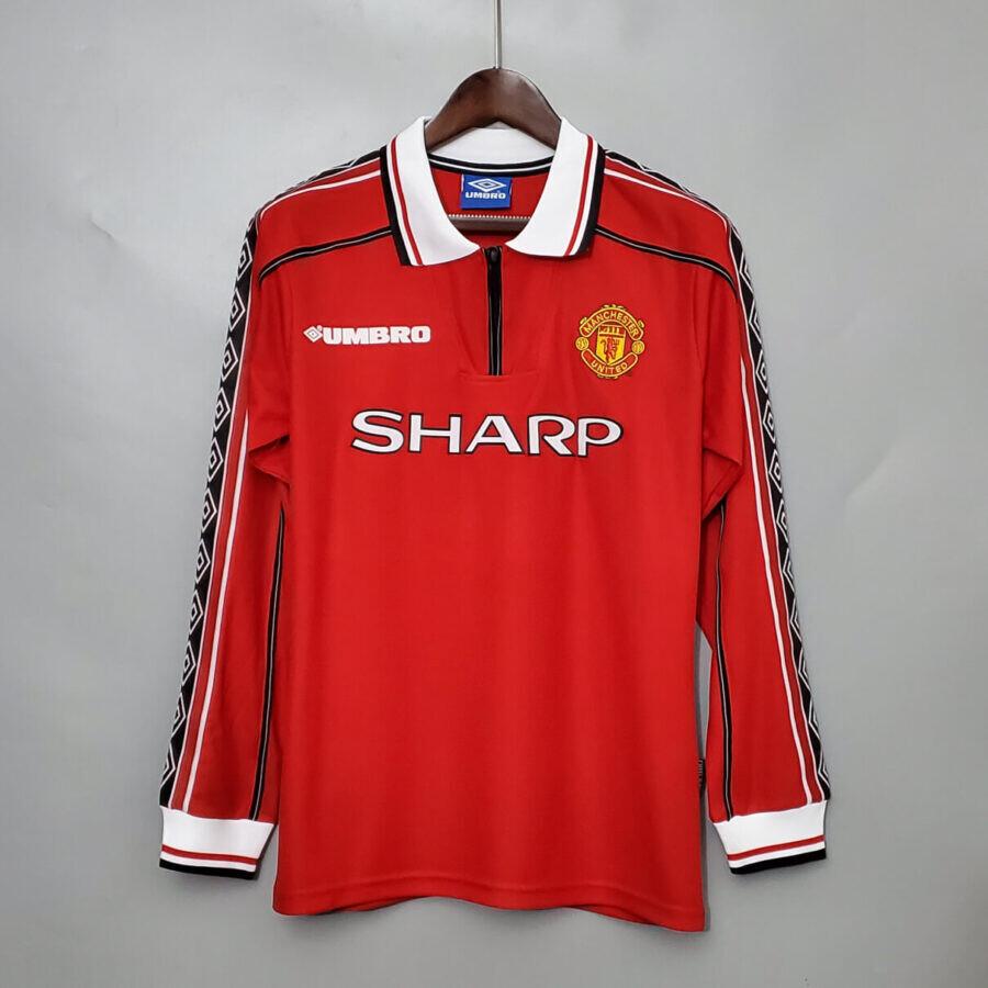 Mancheter United 1998 Home - Full Sleeves