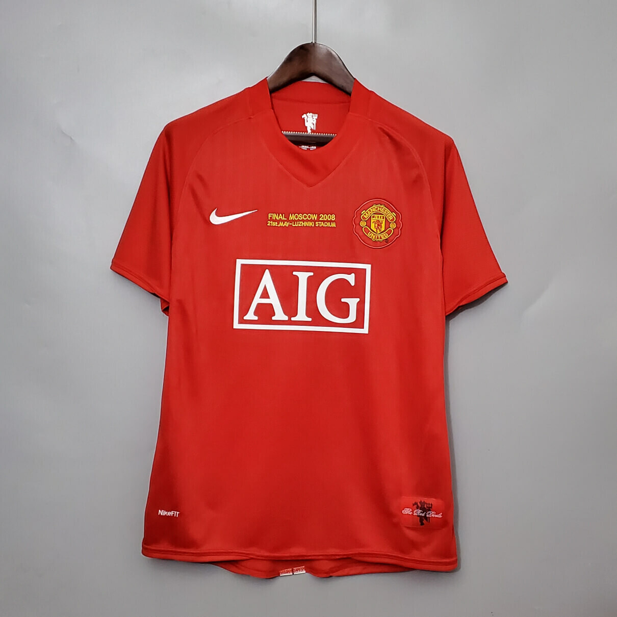 Manchester United 2008 Final Home Jersey [Customizable]